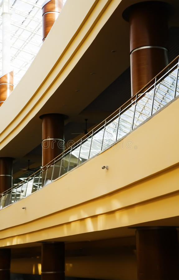 Rounded balconies royalty free stock photo