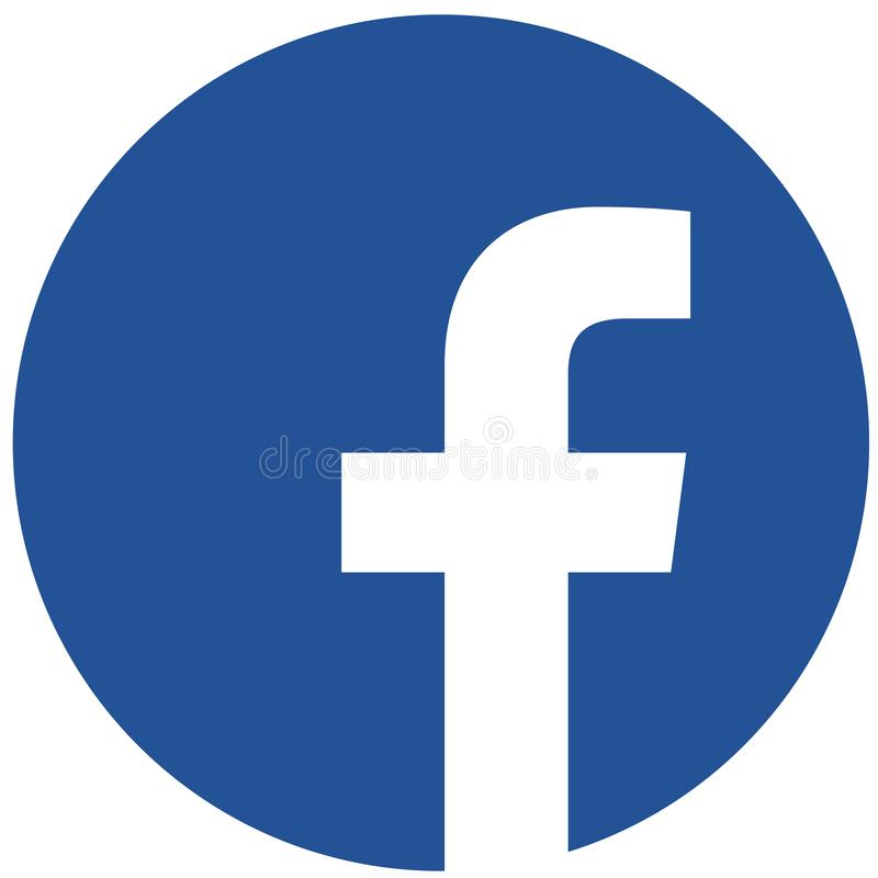 Free Rounded Facebook Logo For Web And Print Royalty Free Stock Photo - 165757365