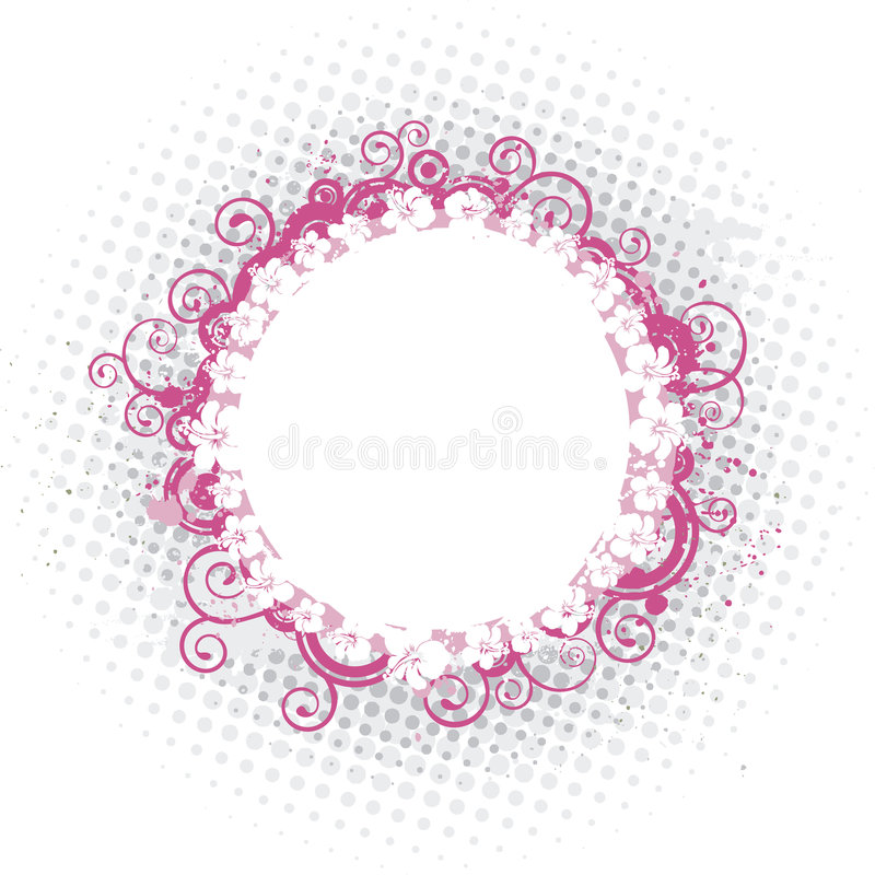 Download Rounded Pink Frame Royalty Free Stock Images - Image: 2682039