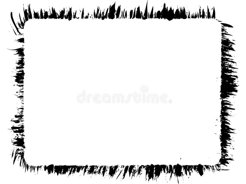 Grungy edge  stock illustration  Illustration of dirty