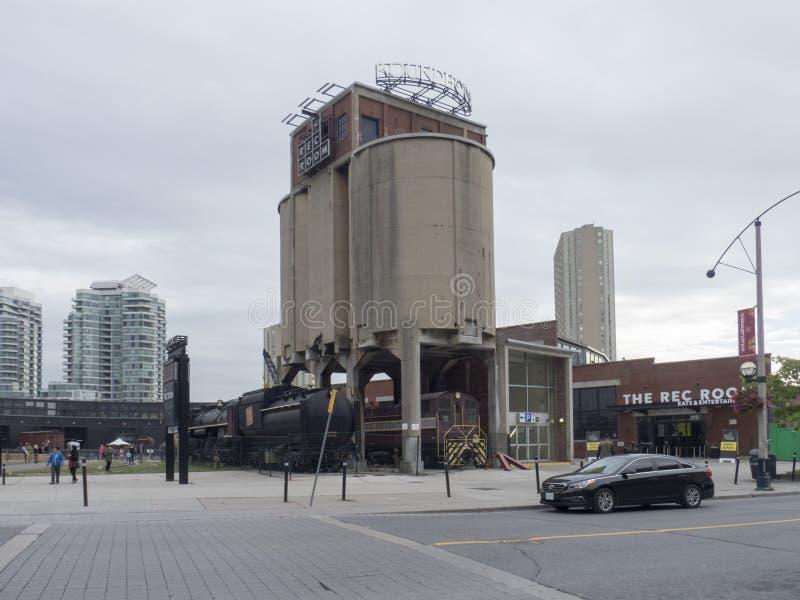 Roundhousepark, Toronto, Canada stock foto