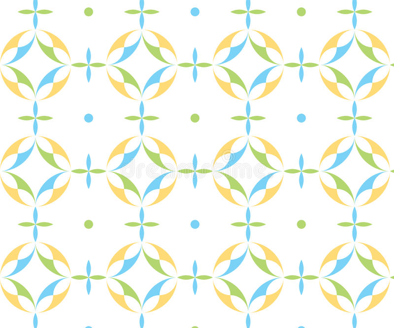 roundshapes的一个五颜六色的样式 库存图片