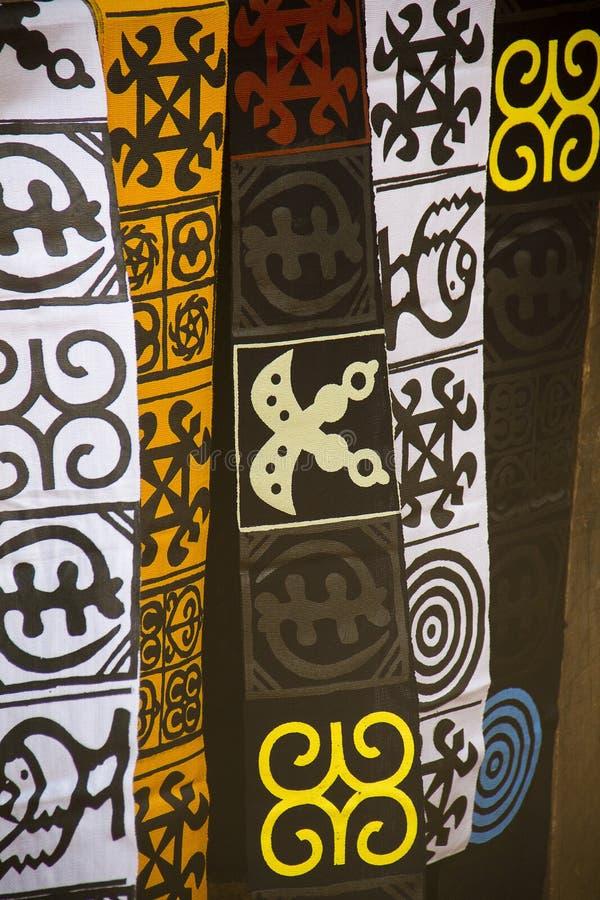 Roupa africana da forma fotografia de stock