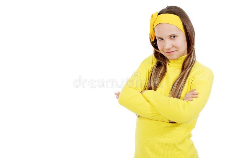 Roupa amarela imagens de stock royalty free