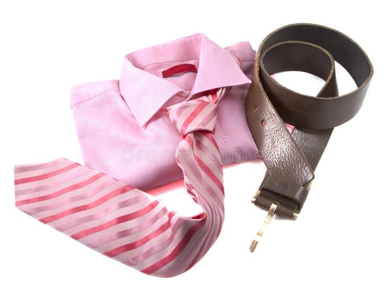 Roupa cor-de-rosa fotografia de stock royalty free
