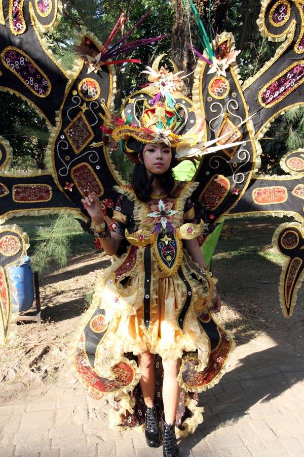 Roupa do carnaval fotografia de stock