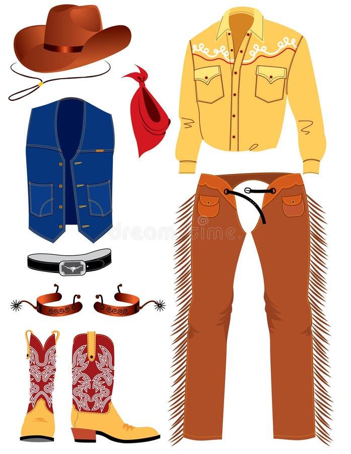 Roupa Do Cowboy Fotos de Stock Royalty Free