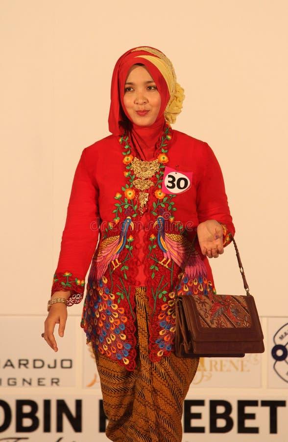 Roupa do Javanese imagem de stock royalty free