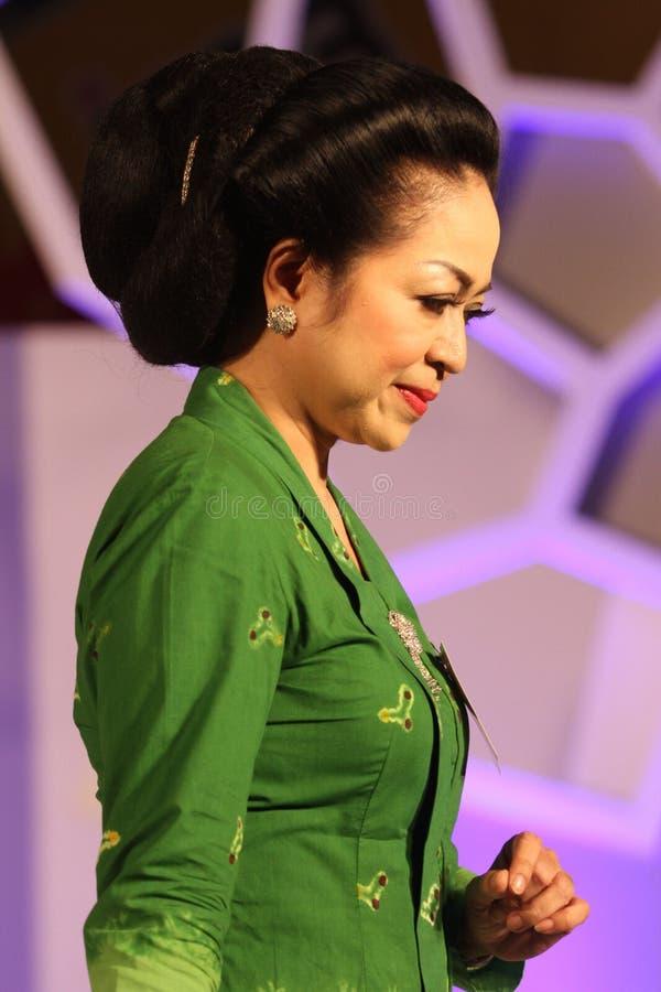 Roupa do Javanese fotos de stock