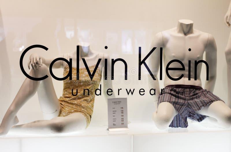 Roupa interior de Calvin Klein foto de stock
