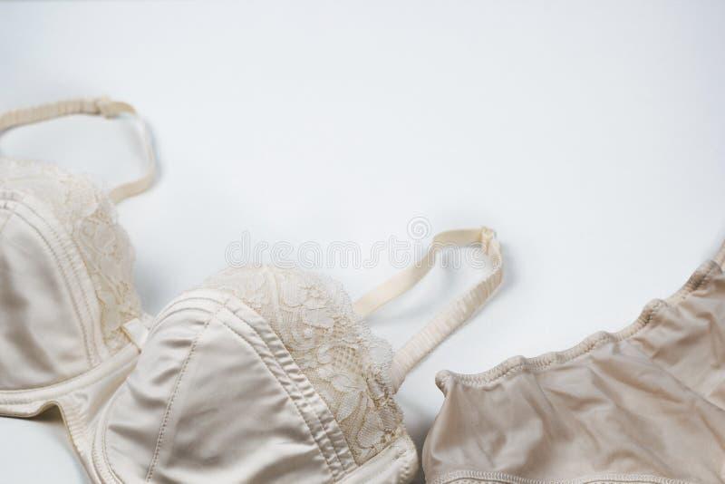 Roupa interior de seda imagem de stock