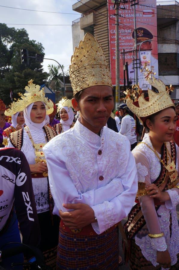 Roupa tradicional do casamento foto de stock