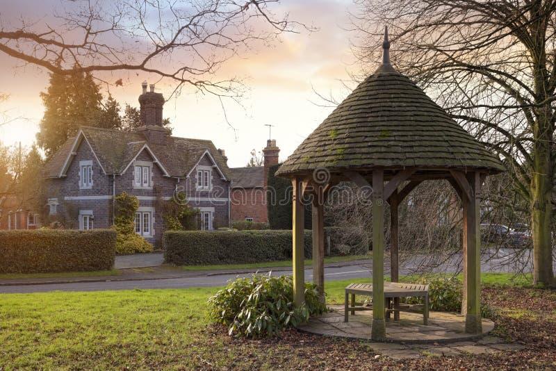Rous Lench, Worcestershire, Engeland stock afbeeldingen