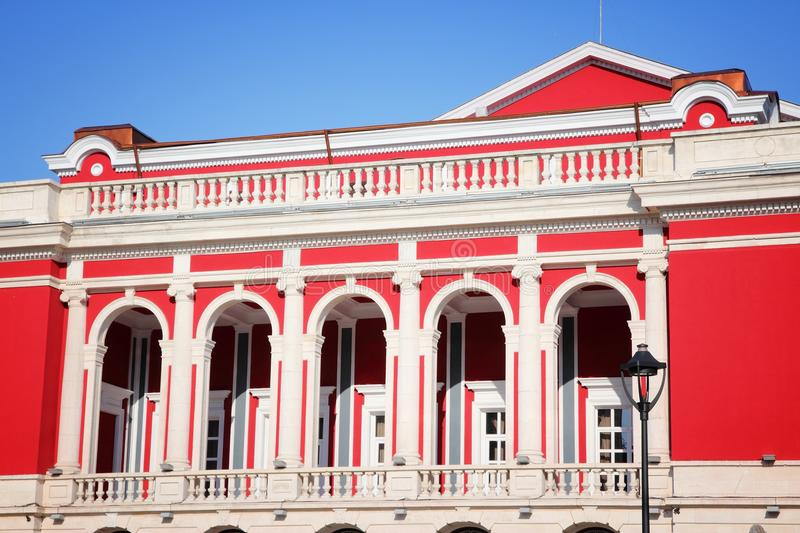 Rousse, Bulgaria. Ruse Rousse in Bulgaria. Fifth largest city in the country. Rousse State Opera stock photography