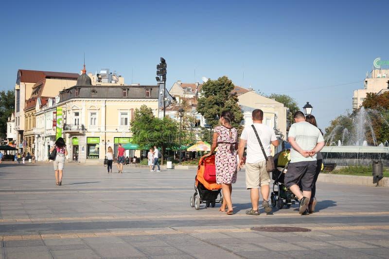 Rousse Bulgarien royaltyfria foton