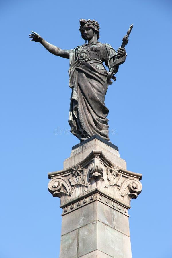 Rousse Freedom Bulgarien royaltyfria foton