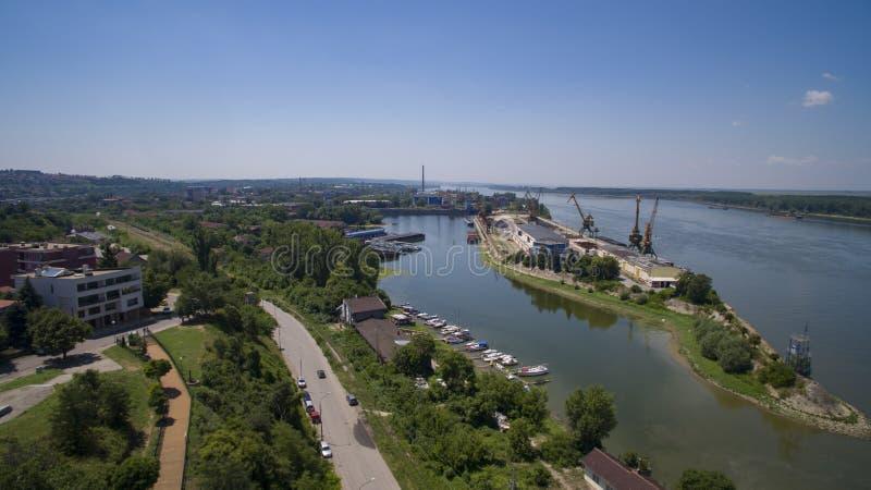 Rousse portuario, Bulgaria, julio de 2017 foto de archivo libre de regalías
