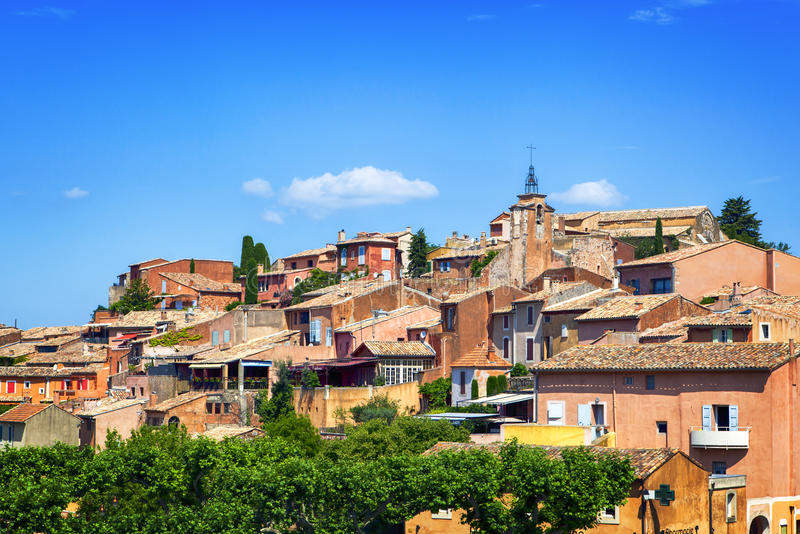 Roussillon Προβηγκία Γαλλία στοκ φωτογραφίες