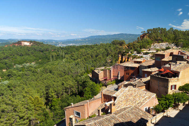Download Roussillon stock image. Image of earth, exterior, blue - 16269237