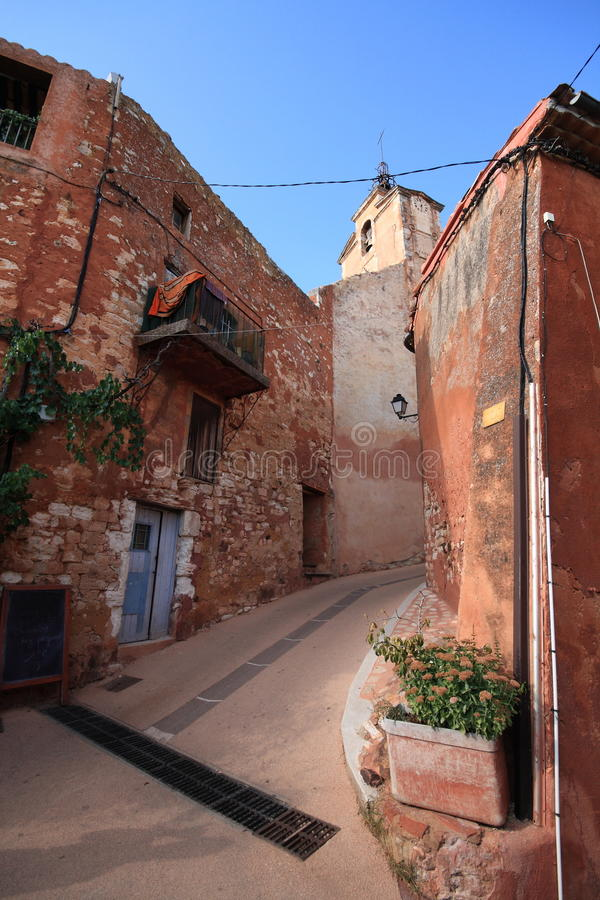 Roussillon - Provence Stock Image