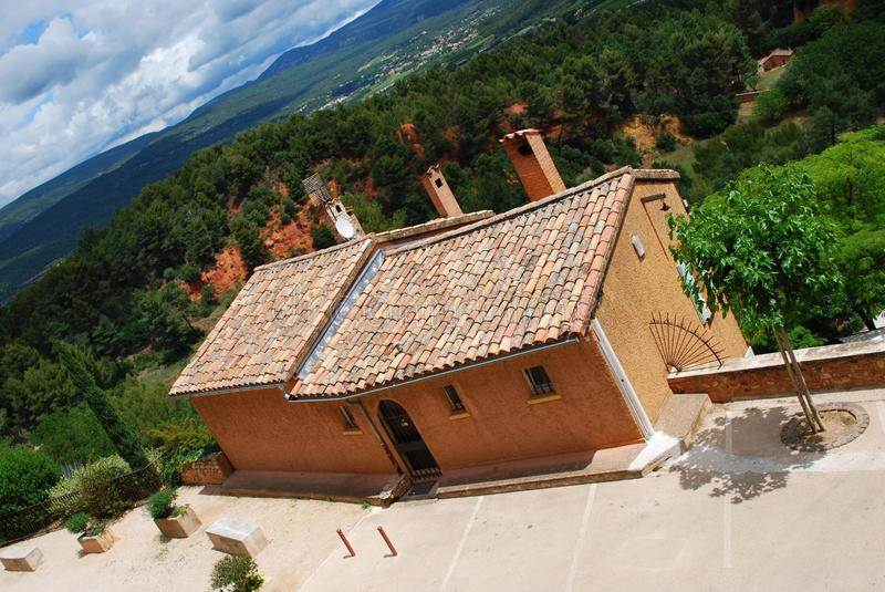 Download Roussillon village, France stock photo. Image of landscape - 30599910