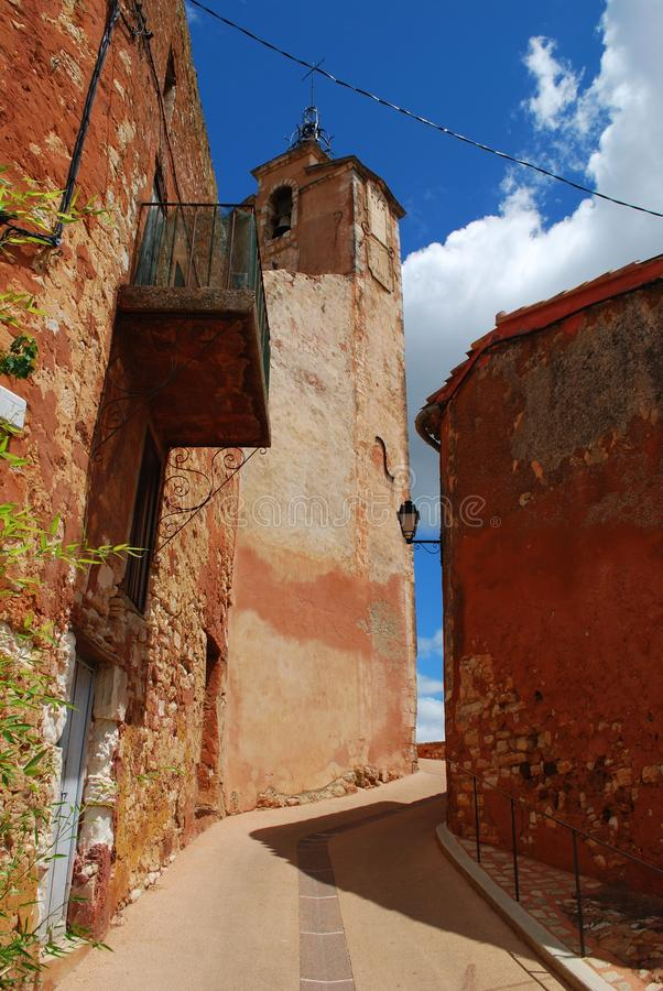 Download Roussillon village, France stock photo. Image of european - 30599744