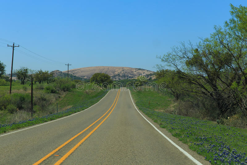 Route à la roche enchantée photographie stock libre de droits