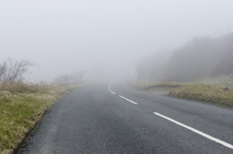 Route à nulle part photos libres de droits