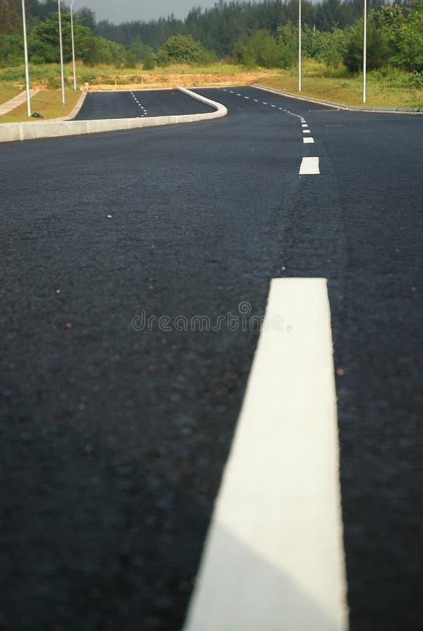 Route à Nulle Part Images stock