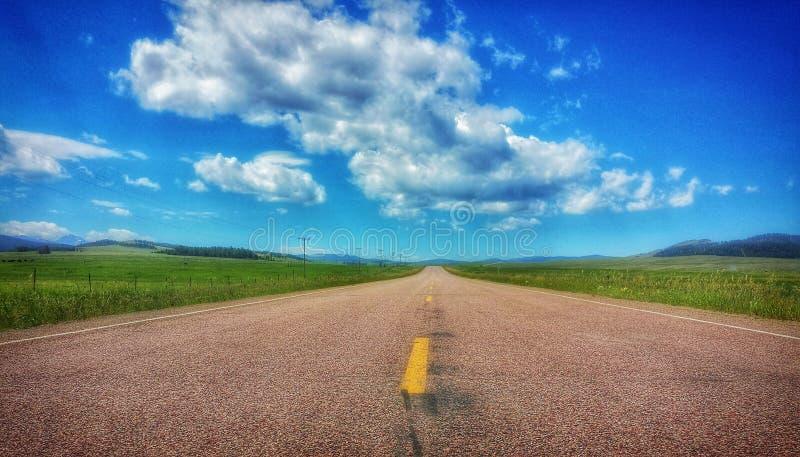 Route à nulle part II photos stock