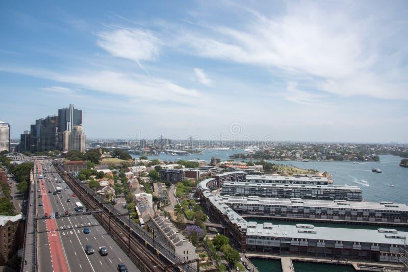 Route à Sydney photographie stock