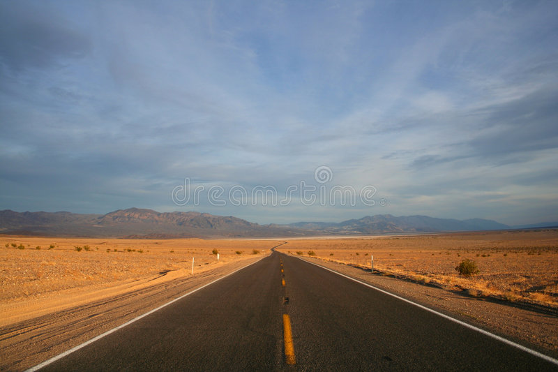 Route photographie stock