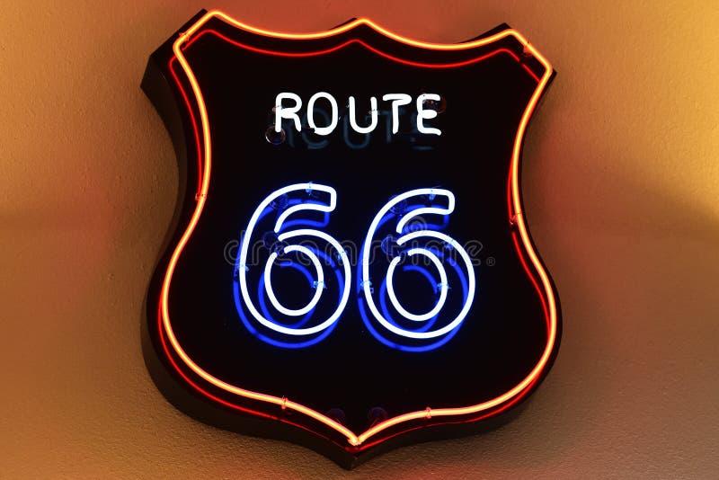 route 66 arkivfoton