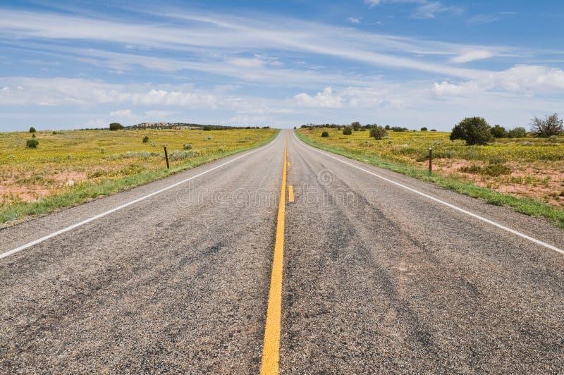 Route photo stock
