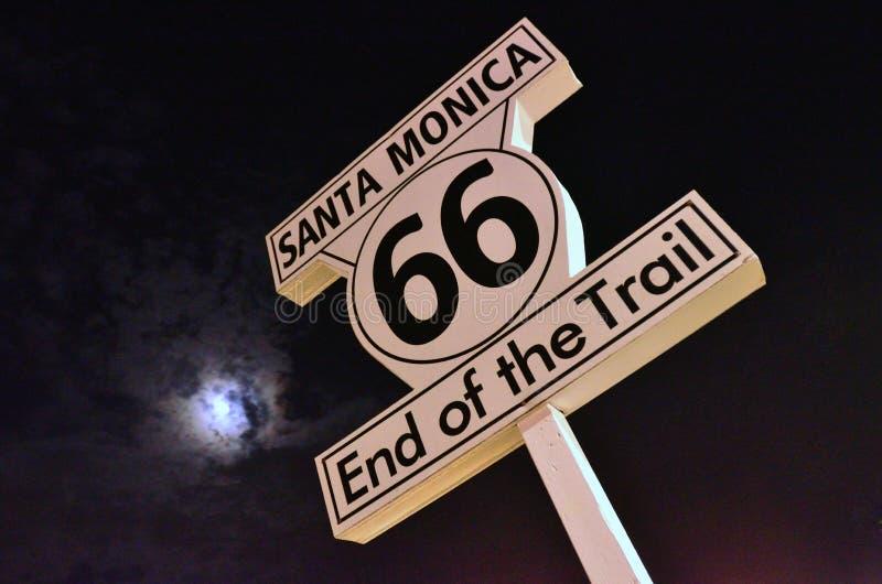 Route 66 lizenzfreies stockbild