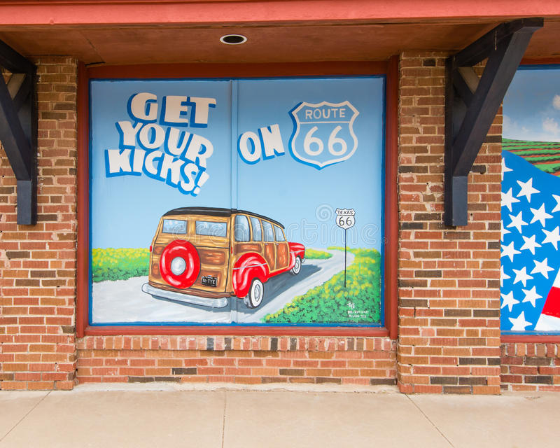 Route 66:  foto de archivo