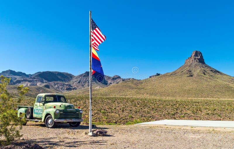 Route 66 stock afbeelding