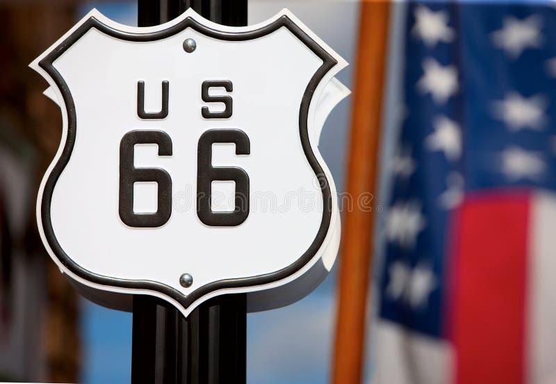 Route 66 royalty-vrije stock afbeeldingen