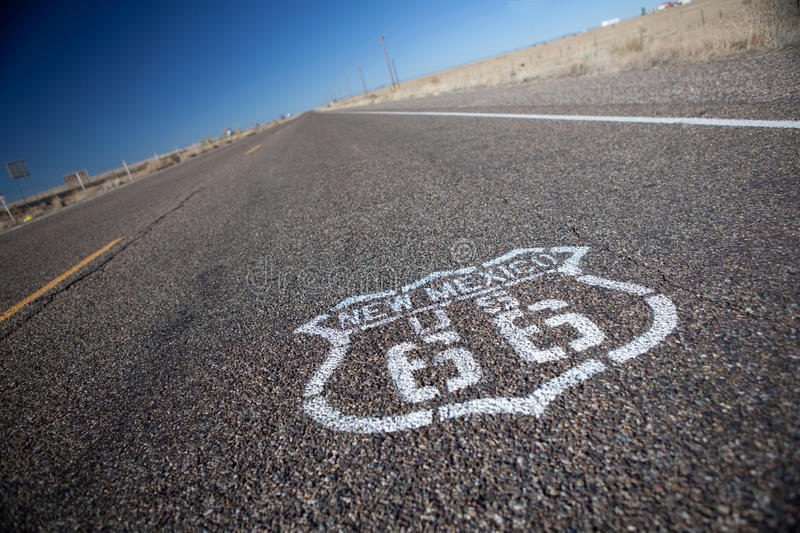 Download Route 66. stock image. Image of highway, road, american - 17282631