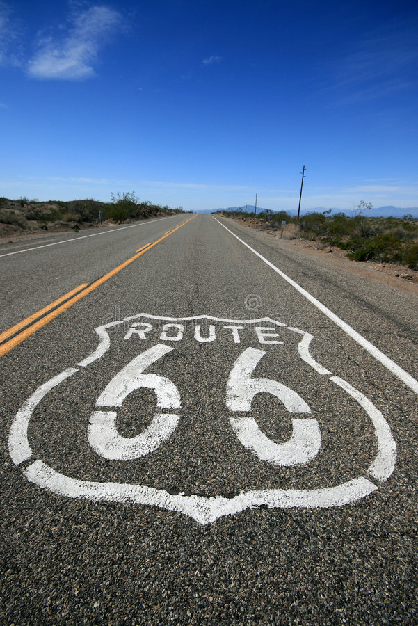 Download Route 66 California stock image. Image of badge, desert - 5907163
