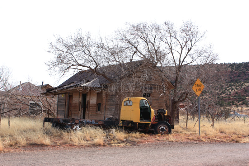 Download Route 66 Dead End Royalty Free Stock Images - Image: 8075419