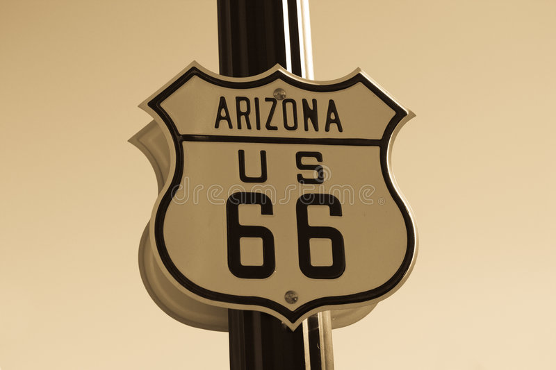 Download Route 66 sign stock photo. Image of motorway, famous, american - 5741928