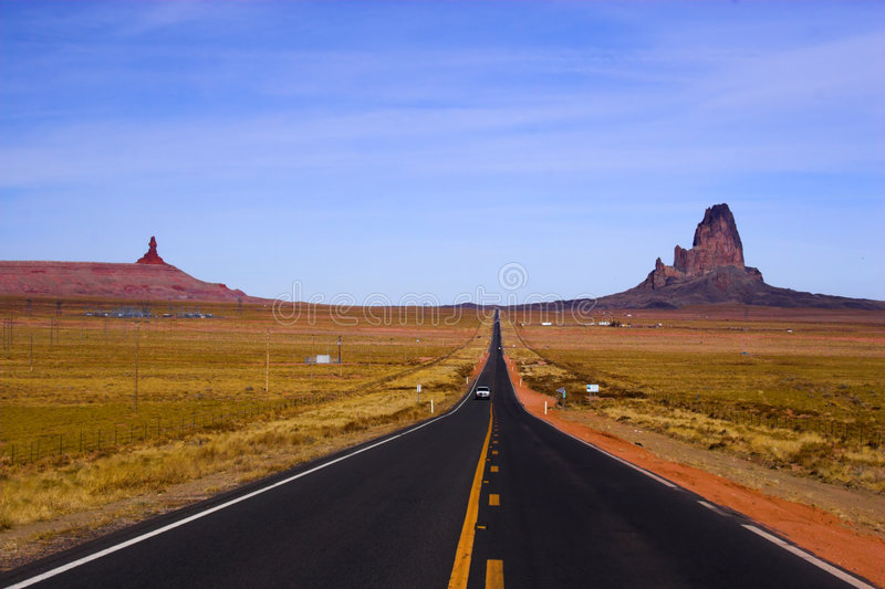 Route 666 images libres de droits