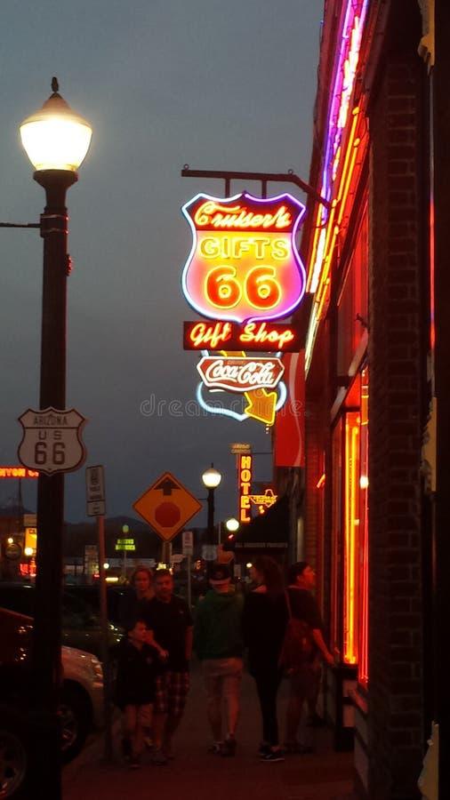 Route66 imagen de archivo libre de regalías