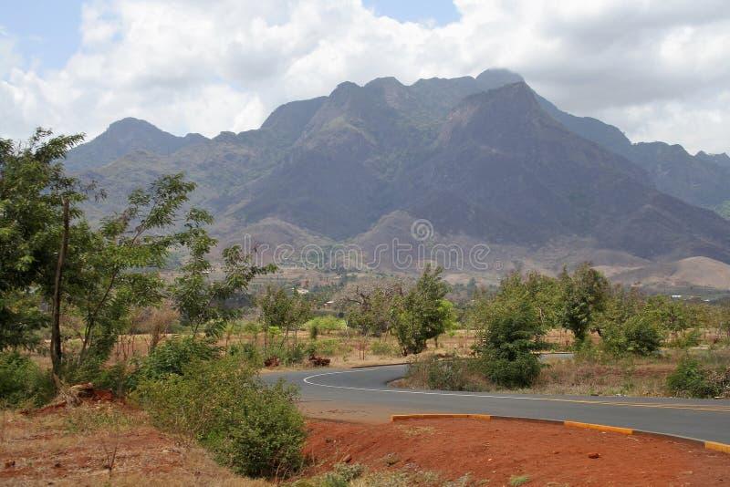 Route africaine photo libre de droits