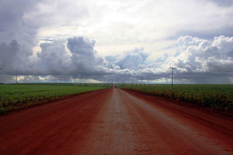 Route au ciel images libres de droits