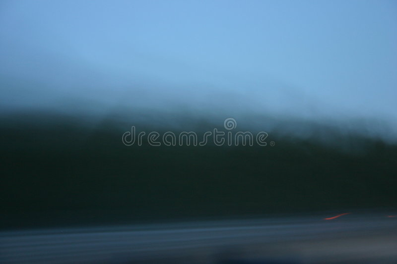 Route Brumeuse Images stock