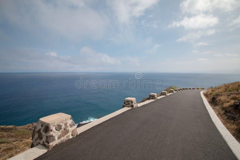Route côtière image stock