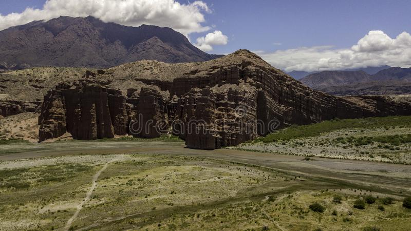 Route 68. Cafayate heading for Salta. Argentina stock photography