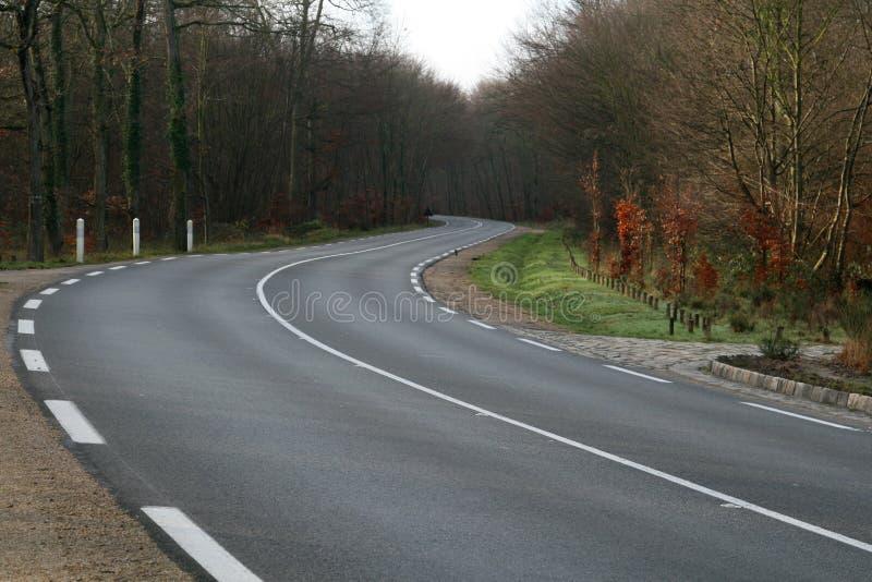 Route Curvy image libre de droits